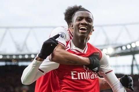 Tiền đạo Eddie Nketiah lập hat-trick, Arsenal hạ Charlton 6-0 hình ảnh