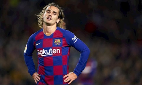 HLV Barca nói về mâu thuẫn với tiền đạo Antoine Griezmann hình ảnh