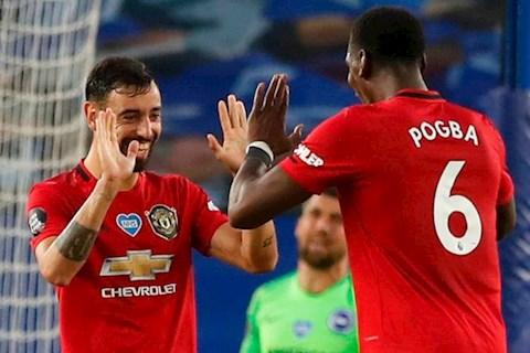 Pogba và Fernandes hòa hợp, người này khó lòng chen chân vào MU… hình ảnh 2