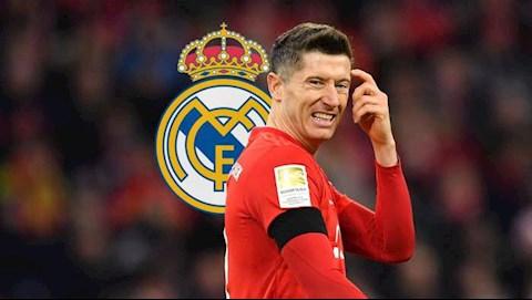 Lewandowski tiết lộ từng từ chối Real Madrid hình ảnh