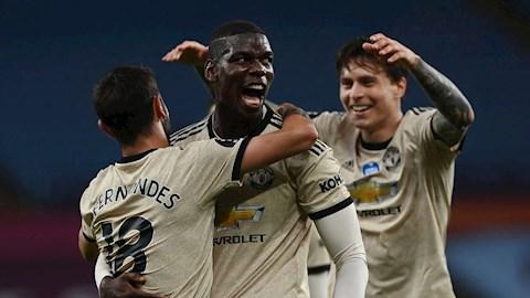 Chơi bùng nổ trước Aston Villa, Pogba vẫn bị chỉ trích hình ảnh