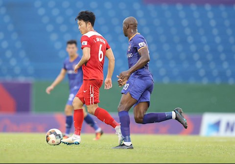 Xuan Truong Binh Duong vs HAGL. Anh: VPF