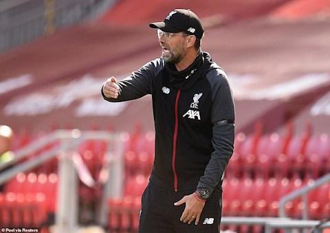 HLV Jurgen Klopp phát biểu sau trận Liverpool vs Burnley hình ảnh