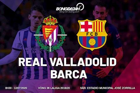 Valladolid vs Barca 0h30 ngày 127 La Liga 201920 hình ảnh