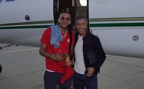 Hakim Ziyech da co mat o London