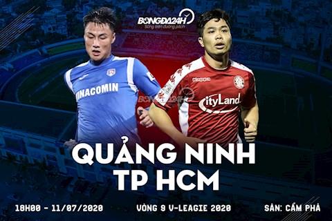 Truc tiep Quang Ninh vs TPHCM 18h00 ngay hom nay 11/7 vong 9 V-League 2020