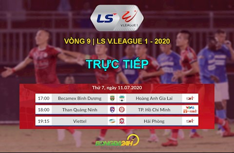 Trực tiếp VLeague hôm nay 117 Lịch thi đấu V League 2020 hình ảnh