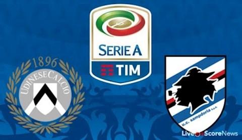 Udinese vs Sampdoria 0h30 ngày 137 Serie A 201920 hình ảnh