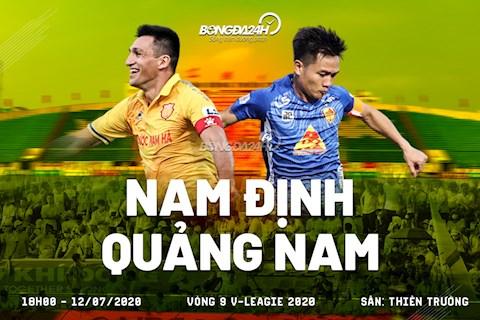 Nam Định vs Quảng Nam 18h00 ngày 127 V-League 2020 hình ảnh