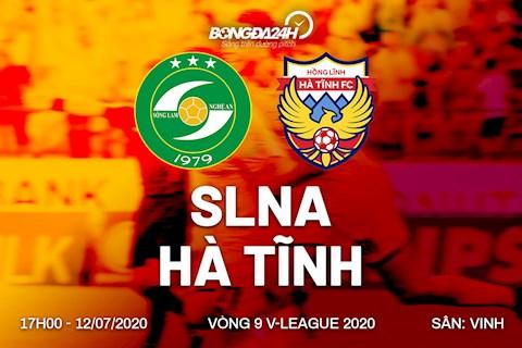 Truc tiep bong da SLNA vs Ha Tinh 17h00 ngay hom nay 12/7 vong 9 V-League 2020