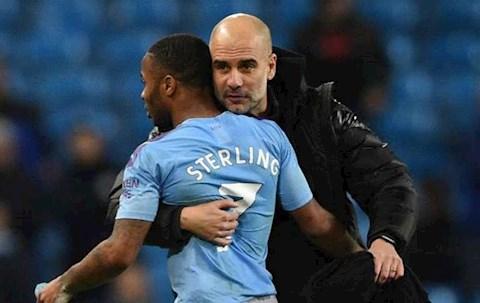 Guardiola va Sterling