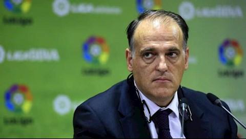 Chủ tịch La Liga tức giận khi Man City thoát án phạt hình ảnh