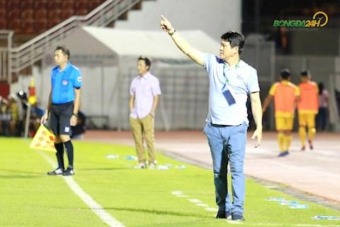 HLV Vu Tien Thanh Sai Gon vs Thanh Hoa 12/7