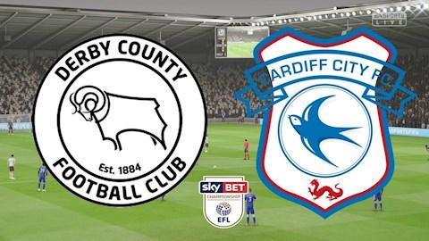 Cardiff vs Derby County 1h45 ngày 157 Hạng nhất Anh 201920 hình ảnh
