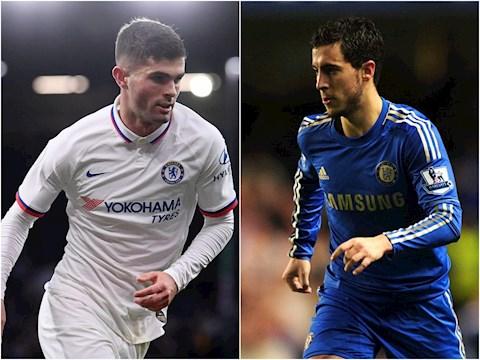 Christian Pulisic liệu có giúp Chelsea quên đi Hazard hình ảnh