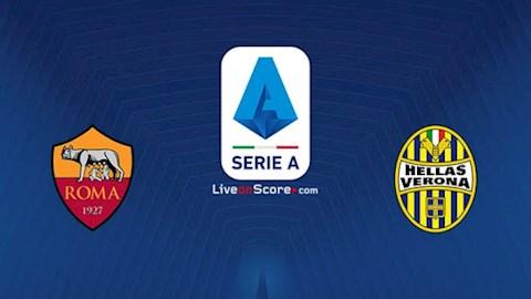 Roma vs Verona 2h45 ngày 167 Serie A 201920 hình ảnh