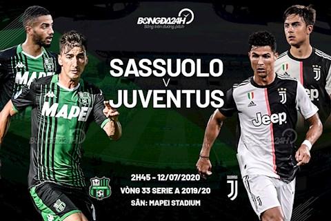Sassuolo vs Juventus 2h45 ngày 167 Serie A 201920 hình ảnh