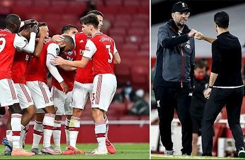 5 điểm nhấn Arsenal vs Liverpool Van Dijk và Alisson tấu hài hình ảnh