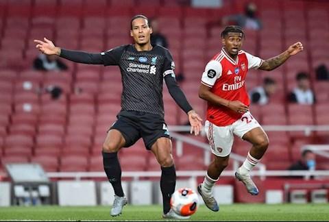 Arsenal vs Liverpool Van Dijk va Nelson