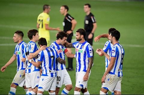 Villarreal 1-2 Sociedad