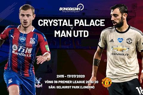 Trực tiếp Crystal Palace vs MU ngày 177 Ngoại hạng Anh 2020 hình ảnh