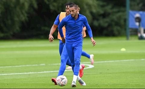 Hakim Ziyech quyết sát cánh cùng đồng đội Chelsea dù chưa thi đấu hình ảnh