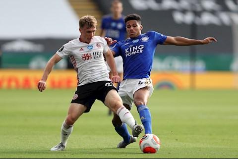 Kết quả tỷ số trận đấu Leicester vs Sheffield 2-0 NHA 2020 hình ảnh