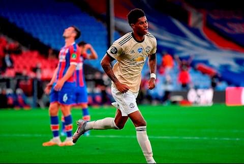 Palace 0-2 MU Rashford ghi ban