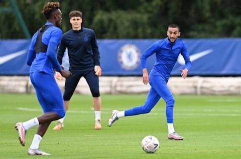Ziyech tap voi Chelsea 3