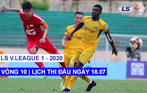 LTD V.League 2020 hom nay 18/7