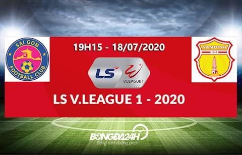 Link xem truc tiep bong da: Sai Gon vs Nam Dinh 19h15 vong 10 V-League 2020