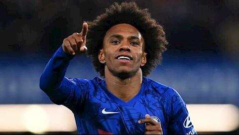 Willian sẵn sàng gia hạn với Chelsea ngay ngày mai hình ảnh