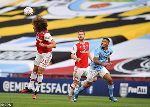 Aubameyang lập cú đúp, Arsenal hiên ngang đánh bại Man City để vào chung kết FA Cup hình ảnh 2