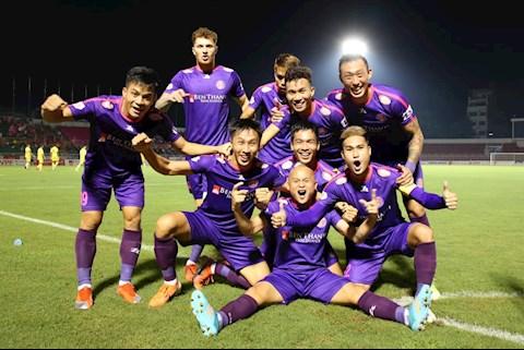 Sài Gòn FC lập kỷ lục vô tiền khoáng hậu tại V-League 2020 hình ảnh