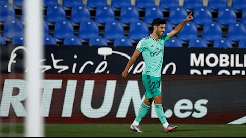 Asensio ghi ban thang cuoi cung cho Real o mua giai nay tai La Liga