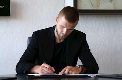 Eric Dier gia hạn hợp đồng với Tottenham hình ảnh