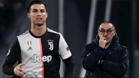 Juventus nói về tương lai Maurizio Sarri và Cristiano Ronaldo hình ảnh