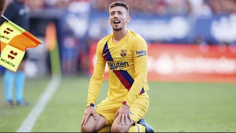 Barca nhận tin buồn từ trung vệ Clement Lenglet hình ảnh