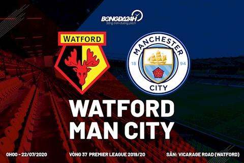 Trực tiếp Watford vs Man City - Xem Ngoại hạng Anh 20192020 hình ảnh