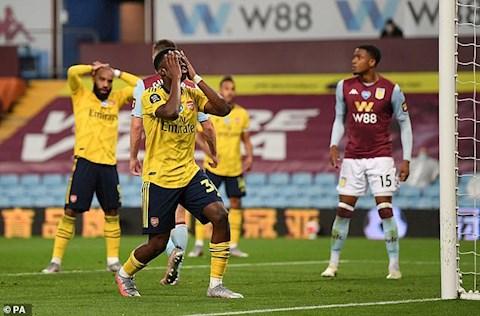 Điểm nhấn Aston Villa vs Arsenal Đỉnh cao và vực thẳm hình ảnh