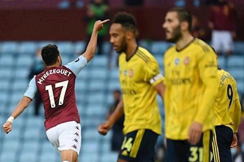Điểm nhấn Aston Villa 1-0 Arsenal Thảm họa hàng công, đào thoát ngoạn mục hình ảnh 2