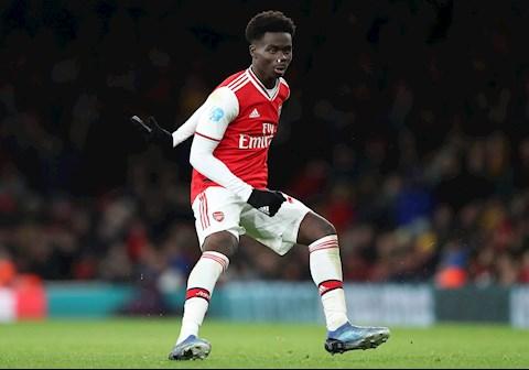 Bukayo Saka tiếp quản áo số 7 ở Arsenal hình ảnh