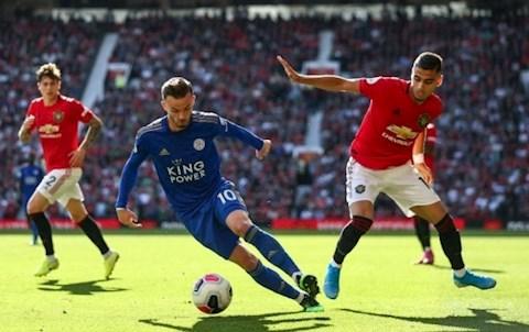 MU vs Leicester Maddison