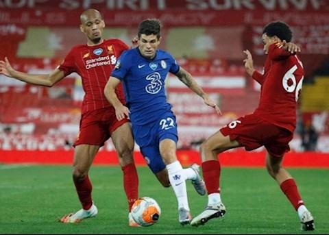 Vì sao Christian Pulisic ngồi dự bị trước Liverpool hình ảnh