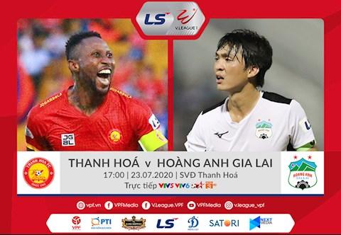 Thanh Hóa vs HAGL link xem trực tiếp bóng đá V-League 2020 hình ảnh