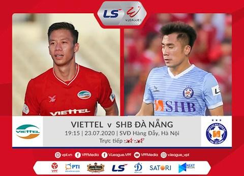 Viettel vs Đà Nẵng link xem trực tiếp bóng đá VLeague 2020 hình ảnh