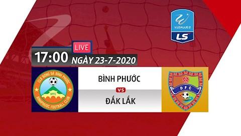 Trực tiếp bóng đá Bình Phước vs Đắk Lắk 2372020 bóng đá VN hình ảnh