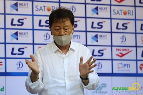 Báo Hàn cải chính tin HLV Chung Hae Soung mâu thuẫn với TPHCM hình ảnh