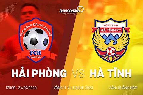 Hải Phòng vs Hà Tĩnh 17h00 ngày 247 V-League 2020 hình ảnh