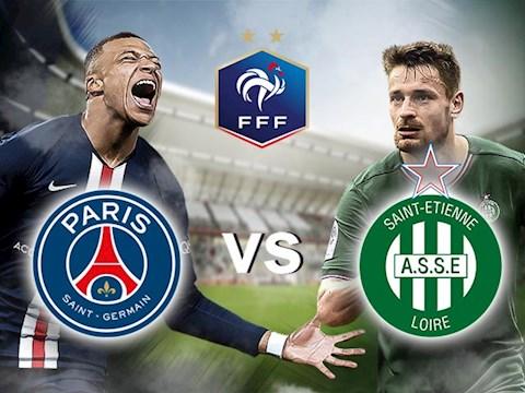 PSG vs StEtienne 2h10 ngày 257 cúp quốc gia Pháp hình ảnh